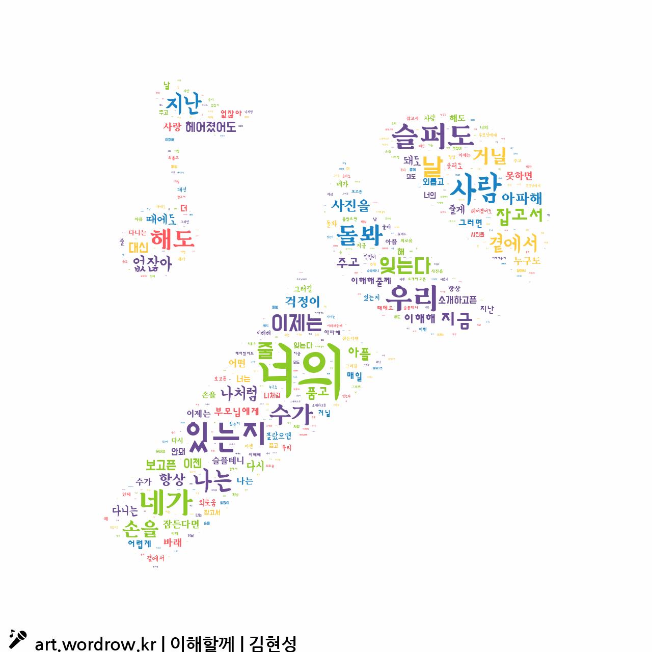 워드 아트: 이해할께 [김현성]-38